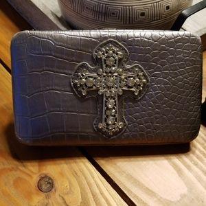 Jewel Cross wallet